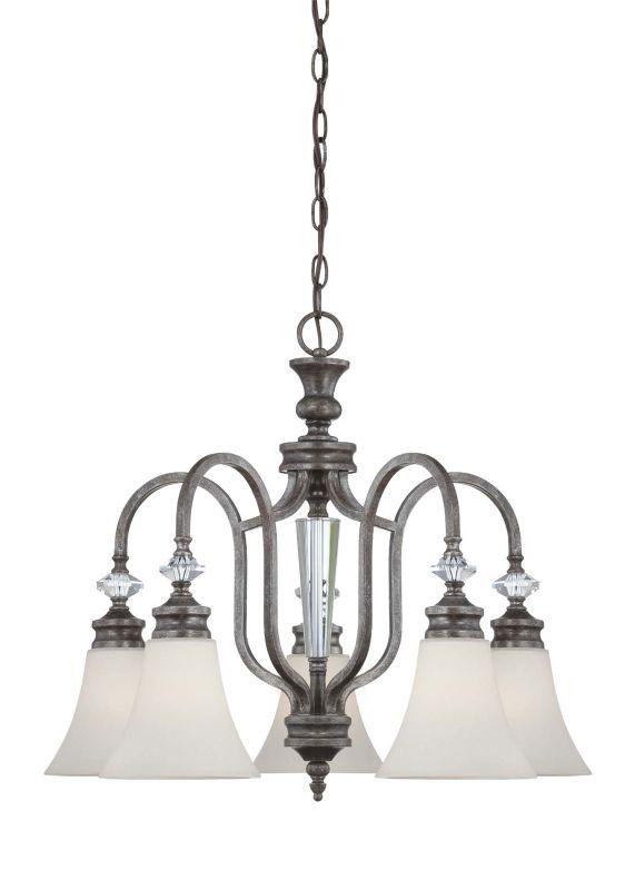 Jeremiah Lighting 26725 Boulevard Single Tier 5 Light Chandelier -