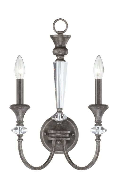 Jeremiah Lighting 26732 Boulevard 2 Light Indoor Wall Sconce - 12