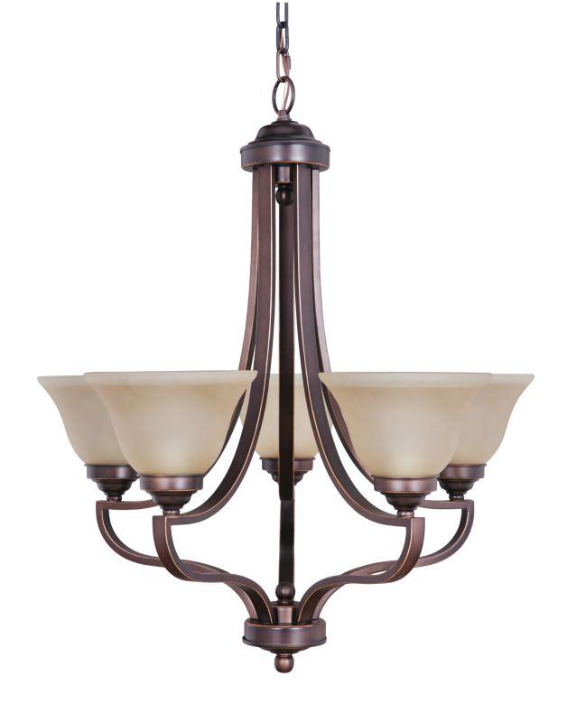 Jeremiah Lighting 9827-5 Portia Single Tier 5 Light Chandelier - 27 Sale $137.00 ITEM: bci1907229 ID#:9827MB5 UPC: 647881110352 :
