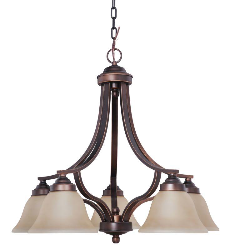 Jeremiah Lighting 9828-5 Portia Single Tier 5 Light Chandelier - 27