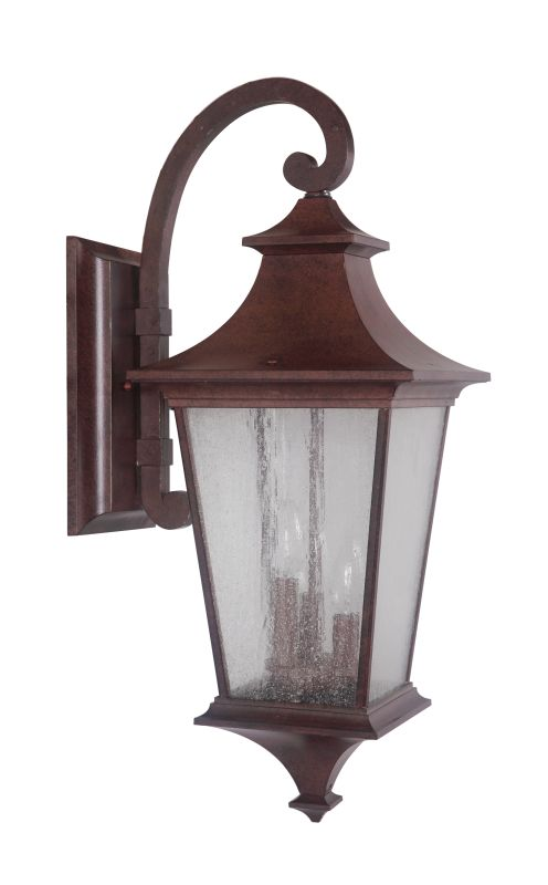 Jeremiah Lighting Z1374 Argent II 3 Light Outdoor Wall Sconce - 10