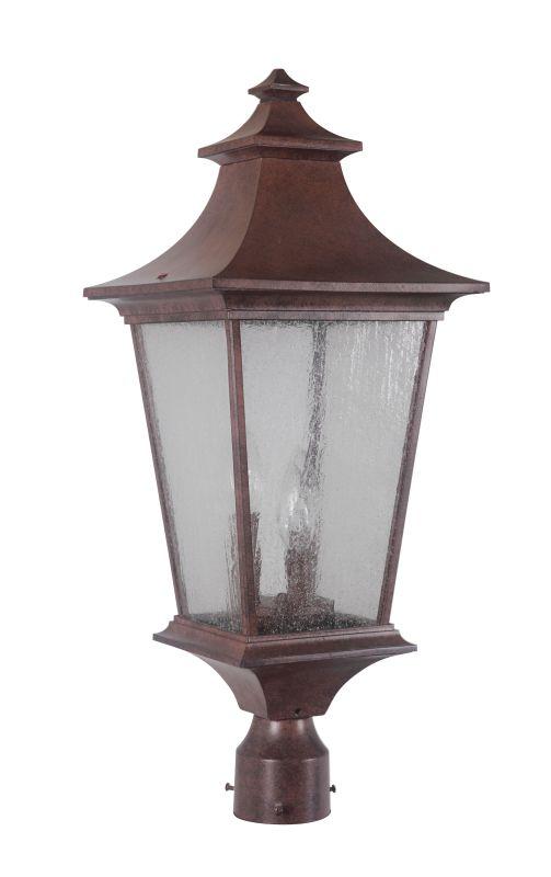 Jeremiah Lighting Z1375 3 Light Ambient Light Outdoor Post Light from