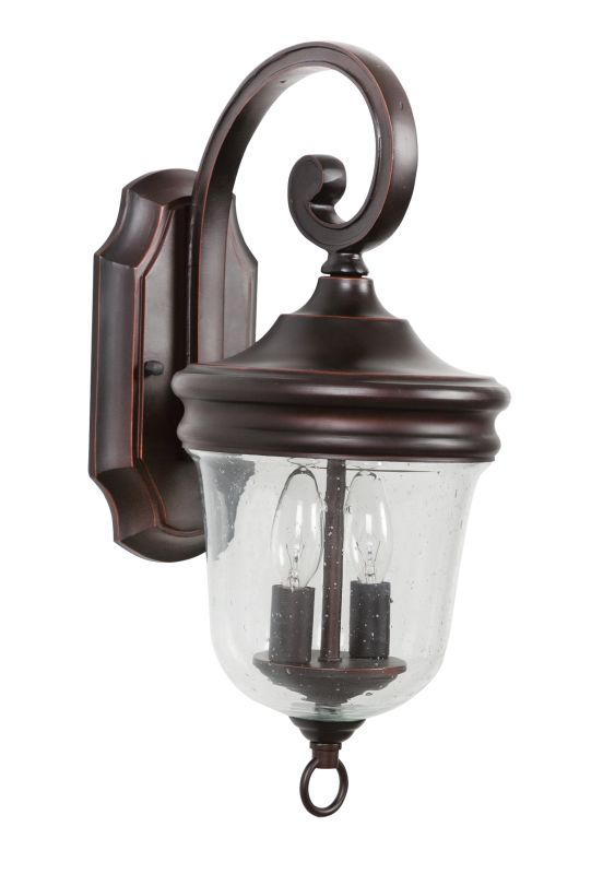 Jeremiah Lighting Z4904 Fredericksburg 2 Light Outdoor Wall Sconce - 8