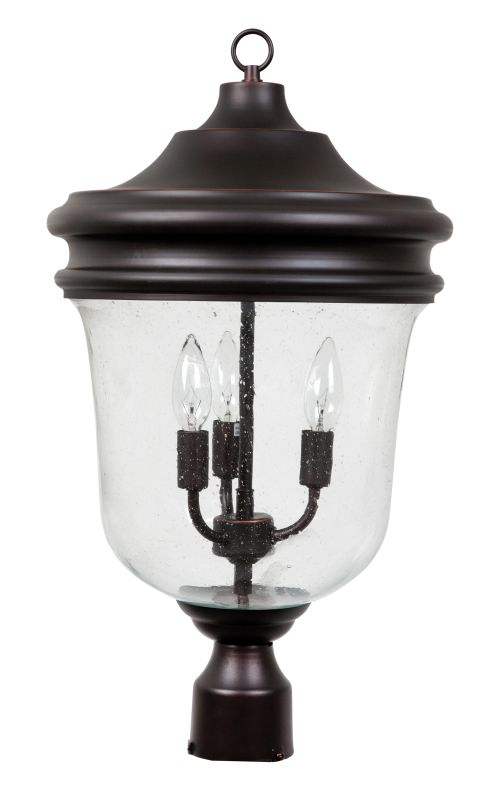 Jeremiah Lighting Z4925 3 Light Ambient Light Outdoor Post Light from Sale $239.00 ITEM: bci1907260 ID#:Z4925-88 UPC: 647881110239 :