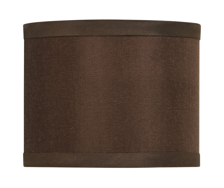 Jeremiah Lighting SH-MINIDRUM 5.5 Inch Mini Drum Shade Chocolate Brown