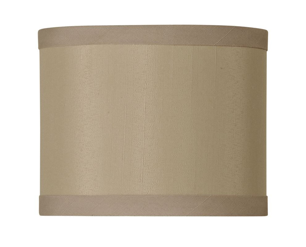 Jeremiah Lighting SH-MINIDRUM 5.5 Inch Mini Drum Shade Flax Accessory