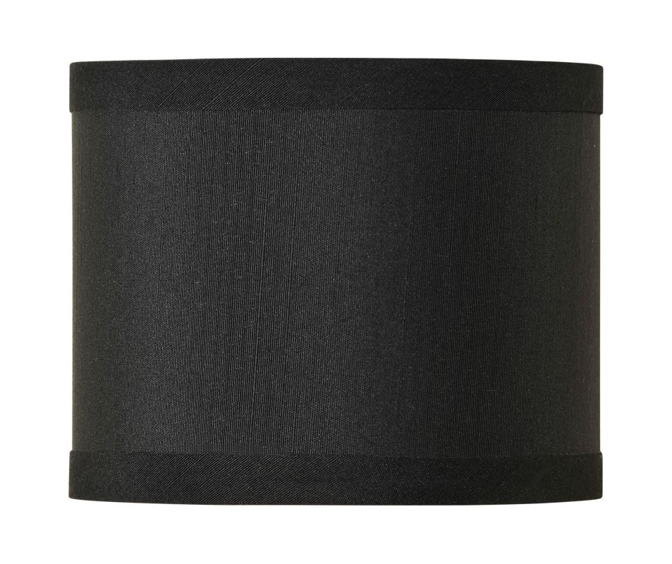 Jeremiah Lighting SH-MINIDRUM 5.5 Inch Mini Drum Shade Raven Black