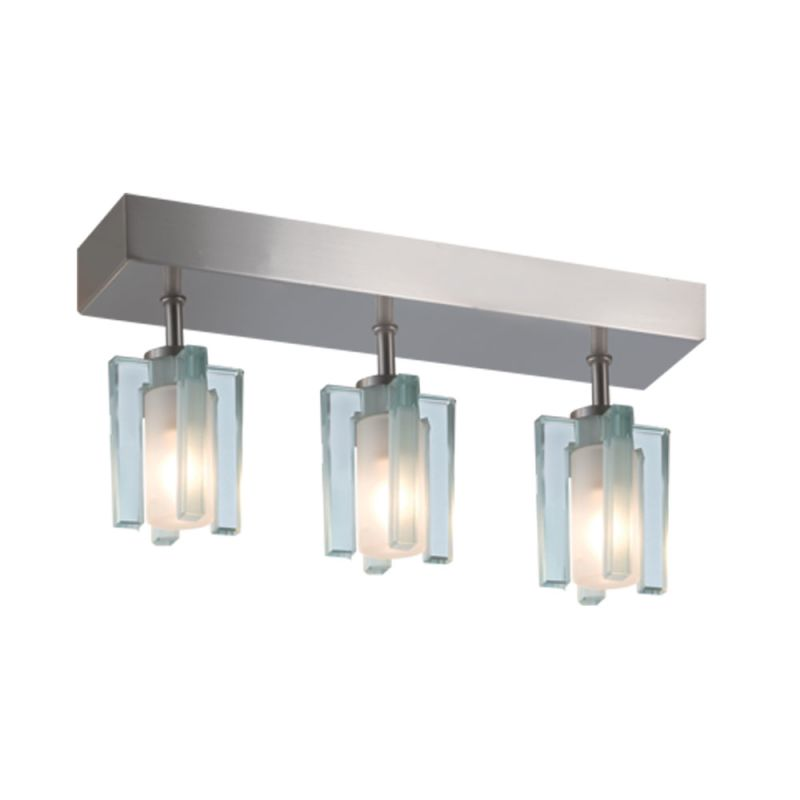Jesco Lighting CM301-3R Akina 3 Light Semi-Flush Ceiling Fixture Satin Sale $163.08 ITEM: bci2619284 ID#:CM301-3R UPC: 848087006092 :