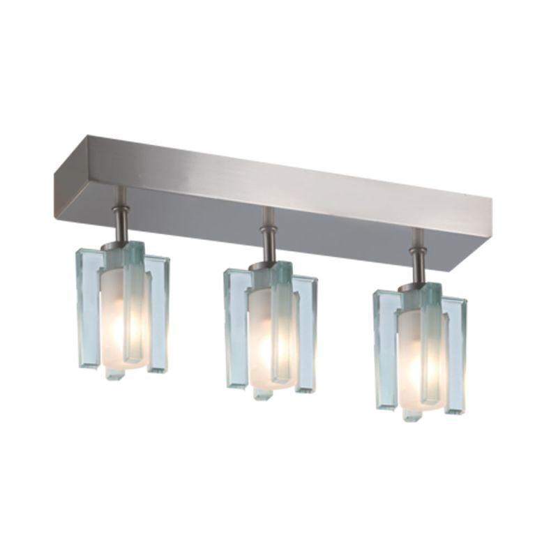 Jesco Lighting CM301-3R Akina 3 Light Semi-Flush Ceiling Fixture Satin Sale $163.08 ITEM: bci2619284 ID#:CM301-3R UPC: 848087006092 :
