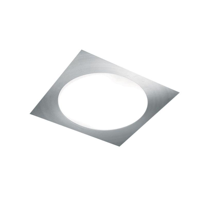 Jesco Lighting CTC607M Carre 2 Light Flush Mount Ceiling Fixture Satin