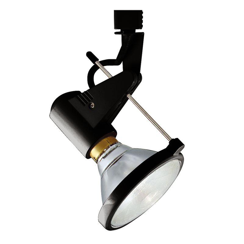 Jesco Lighting HHV338 1 Light Halogen Deco Series Track Head Black