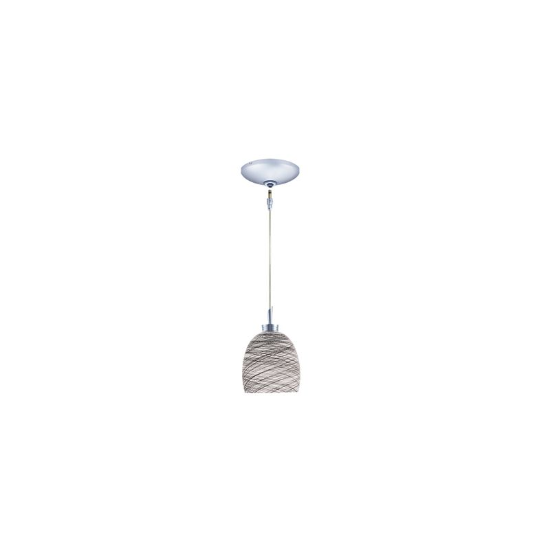 Jesco Lighting KIT-QAP113-CH-B Dallas 1 Light Low Voltage Mini Pendant