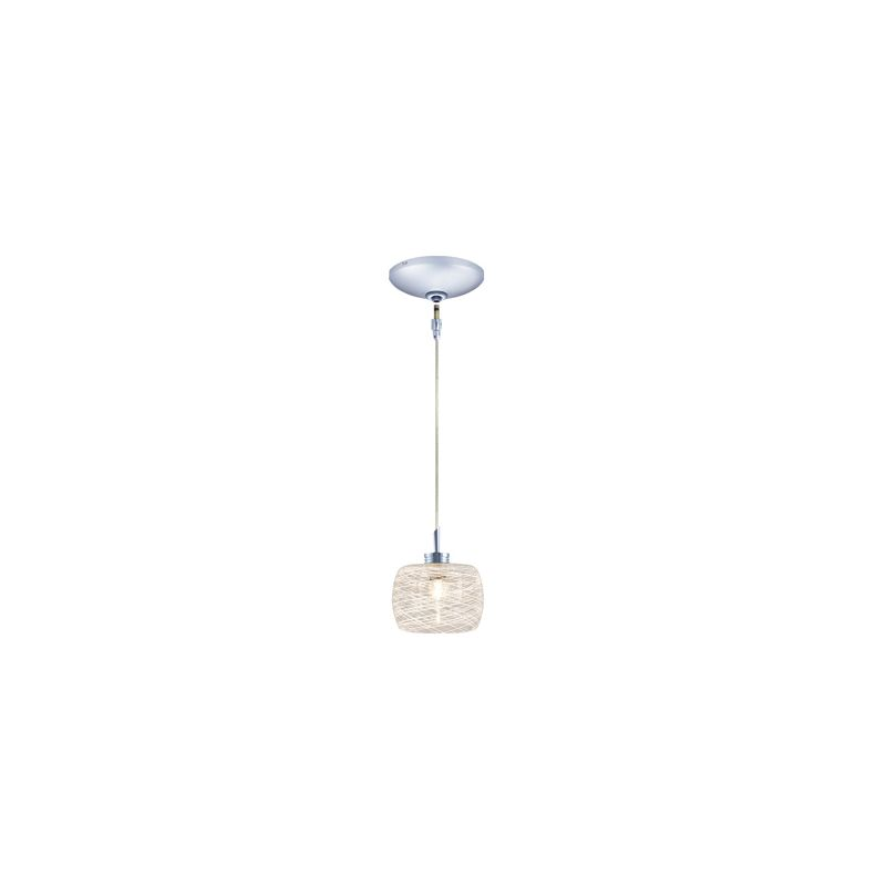 """Jesco Lighting KIT-QAP115-CH-B Ally 1 Light Low Voltage Mini Pendant Sale $122.18 ITEM: bci2519668 ID#:KIT-QAP115-WHFR/CH-B UPC: 848087079980 Product Features: Finish: Chrome / Black , Light Direction: Down Lighting , Width: 4.125"""" , Height: 2.5"""" , Bulb Type: Xenon / Krypton , Number of Bulbs: 1 , Fully covered under Jesco Lighting warranty , Location Rating: Indoor Use :"""