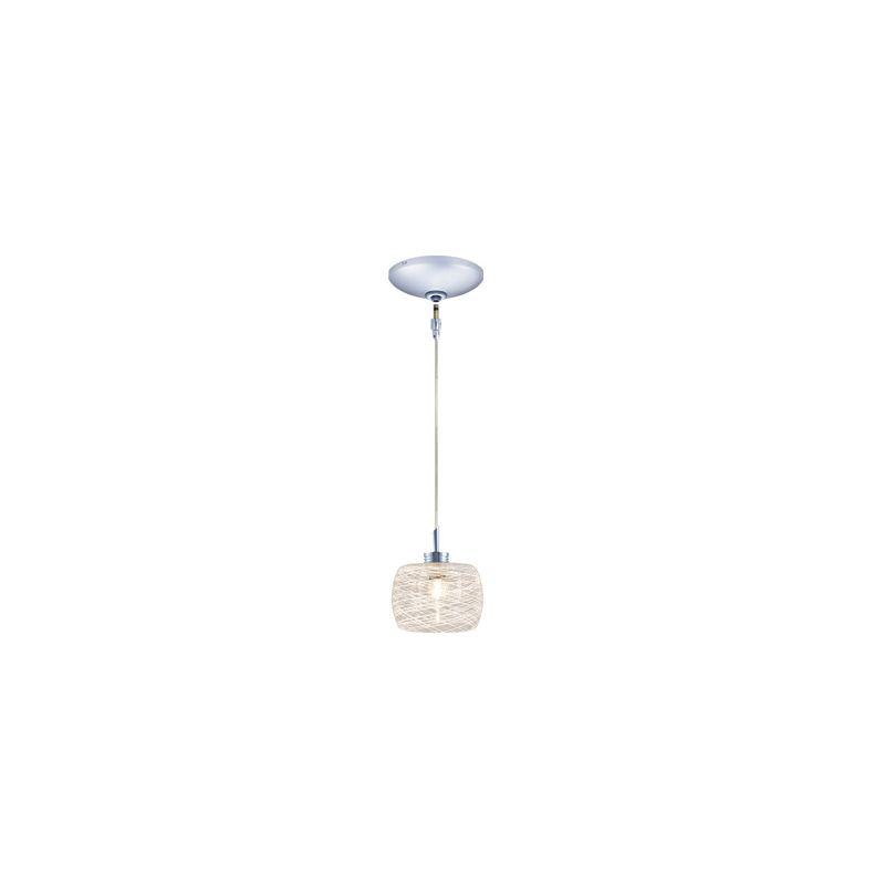 Jesco Lighting KIT-QAP115-CH-B Ally 1 Light Low Voltage Mini Pendant