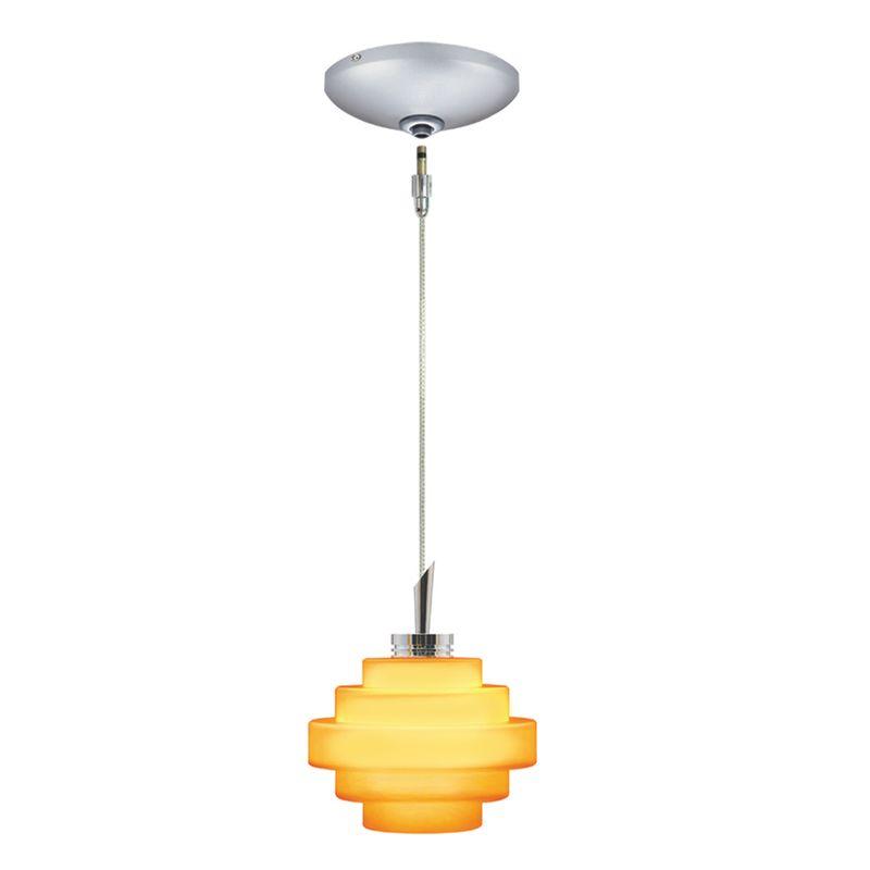 Jesco Lighting KIT-QAP121-AM-A Grace 1 Light Low Voltage Mini Pendant