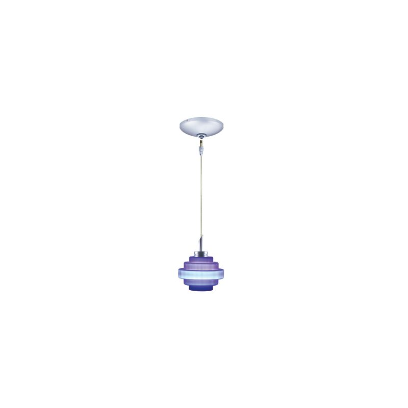 Jesco Lighting KIT-QAP121-CH-B Grace 1 Light Low Voltage Mini Pendant