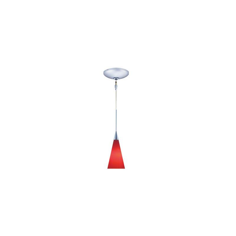 Jesco Lighting KIT-QAP210-CH-B Vern 1 Light Low Voltage Mini Pendant
