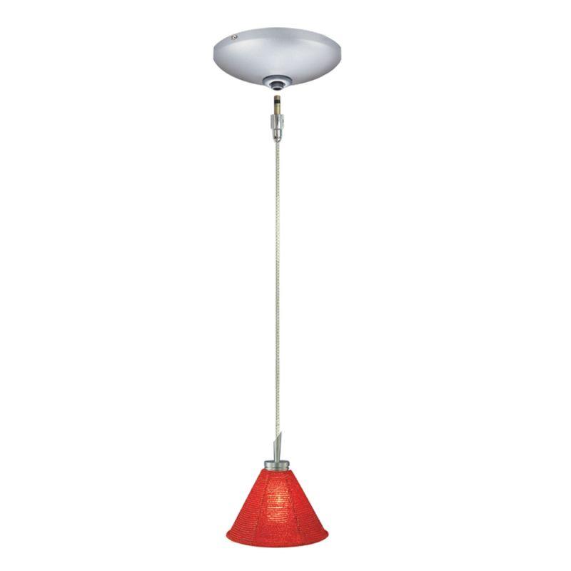 Jesco Lighting KIT-QAP212-RD-A Halle 1 Light Low Voltage Mini Pendant