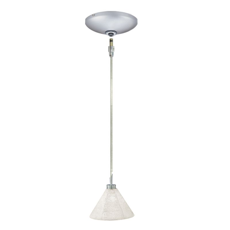 Jesco Lighting KIT-QAP212-SV-A Halle 1 Light Low Voltage Mini Pendant