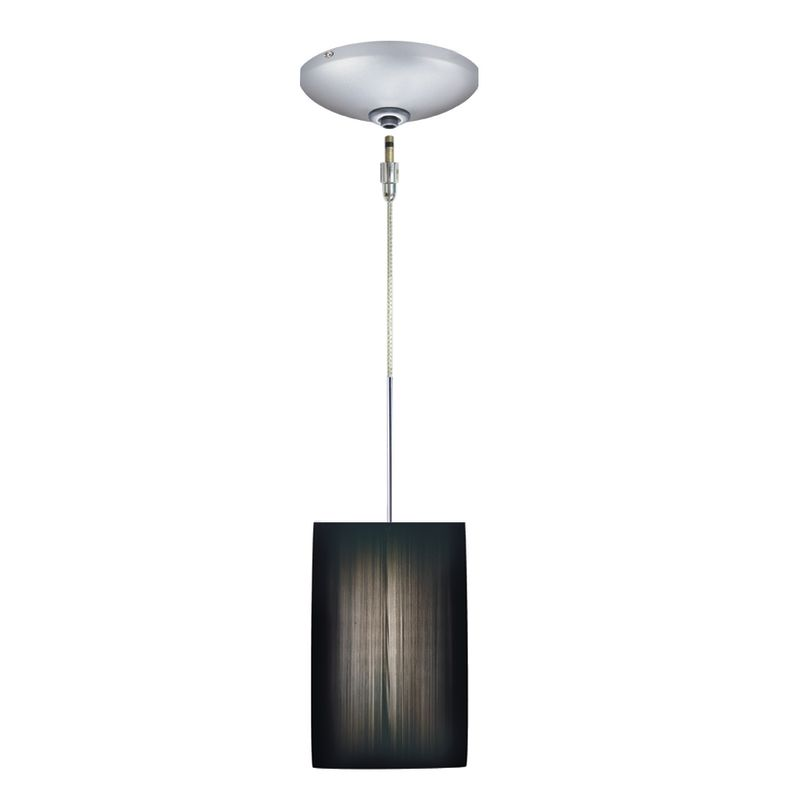 Jesco Lighting KIT-QAP230-BK-A Tao 1 Light Low Voltage Mini Pendant