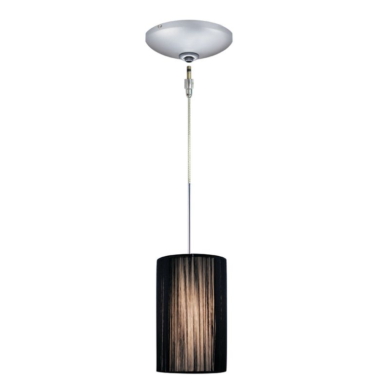 Jesco Lighting KIT-QAP231-BK-A Zen 1 Light Low Voltage Mini Pendant