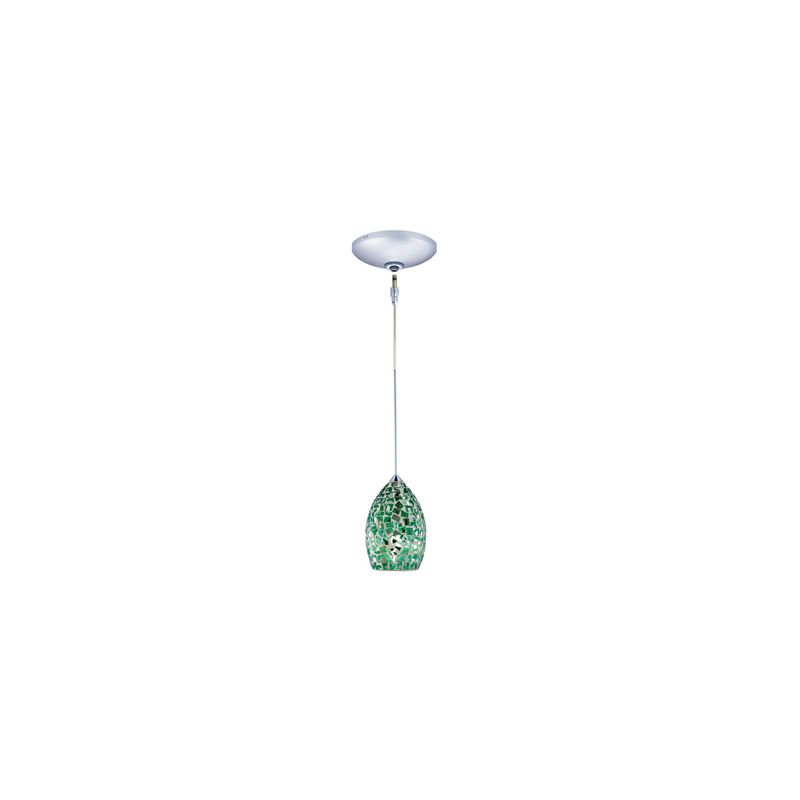 Jesco Lighting KIT-QAP232-CH-B Moz 1 Light Low Voltage Mini Pendant