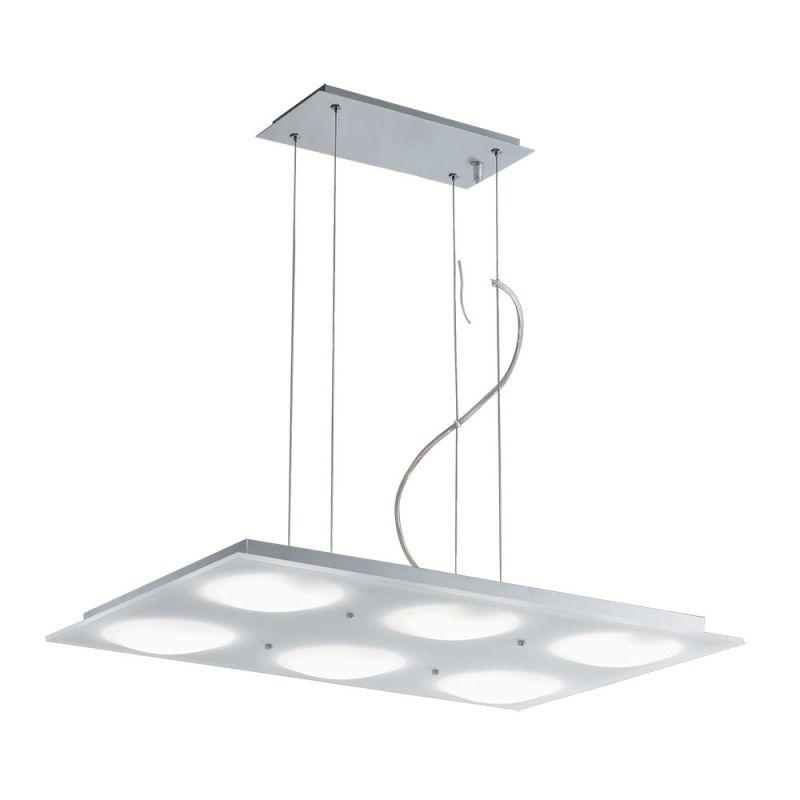 Jesco Lighting PD617-6R Lumidisque 6 Light Pendant Satin Aluminum Sale $423.31 ITEM: bci2619402 ID#:PD617-6R UPC: 848087002155 :