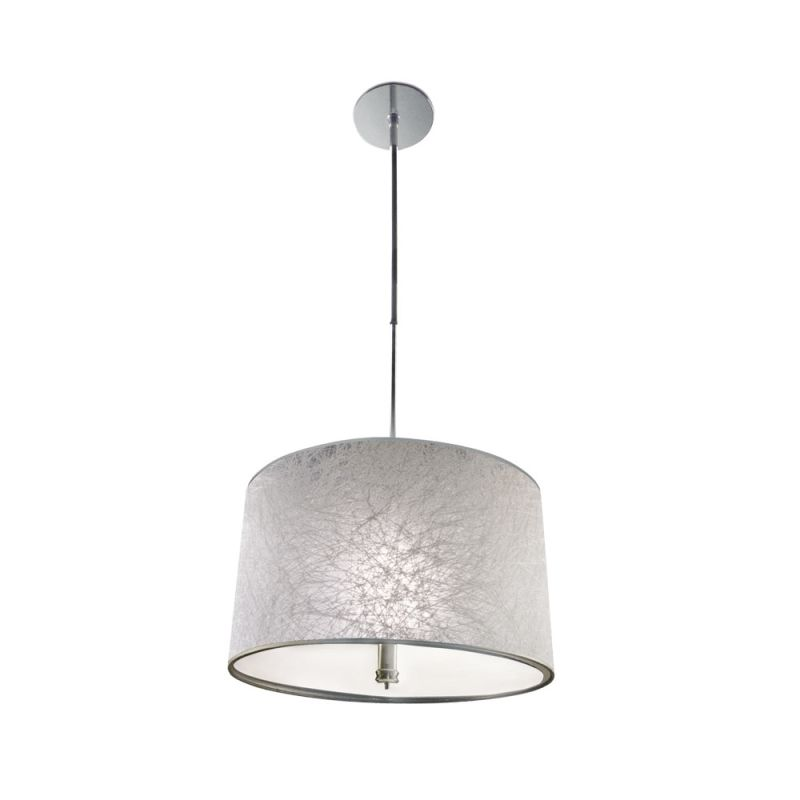 Jesco Lighting PD630 Halle 3 Light Pendant Chrome Indoor Lighting