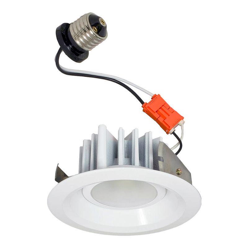 """Jesco Lighting RLR-4110-40 4"""" 1 Light Recessed LED Retrofit Kit White Sale $74.50 ITEM: bci2810620 ID#:RLR-4110-40-WH/WH UPC: 848087066652 :"""