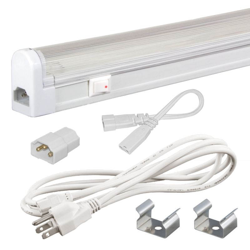 Jesco Lighting SG4-CPS-24-41-W Sleek Plus Under Cabinet Kit 24W 4100K Sale $69.90 ITEM: bci2239602 ID#:SG4-CPS-24-41-W UPC: 848087002230 :