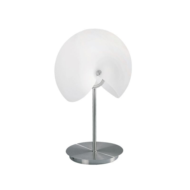Jesco Lighting TL502 Fosil 2 Light Accent Table Lamp with Opal Glass