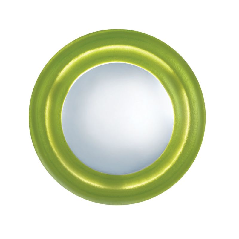 Jesco Lighting WS295 Lolli 1 Light Wall Sconce Chrome / Green Indoor Sale $37.58 ITEM: bci2619434 ID#:WS295-GN UPC: 848087064146 :