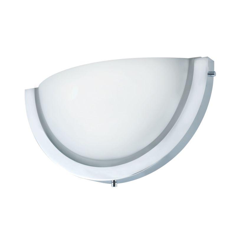 Jesco Lighting WS323M-INC Half Moon 2 Light Wall Sconce Chrome /