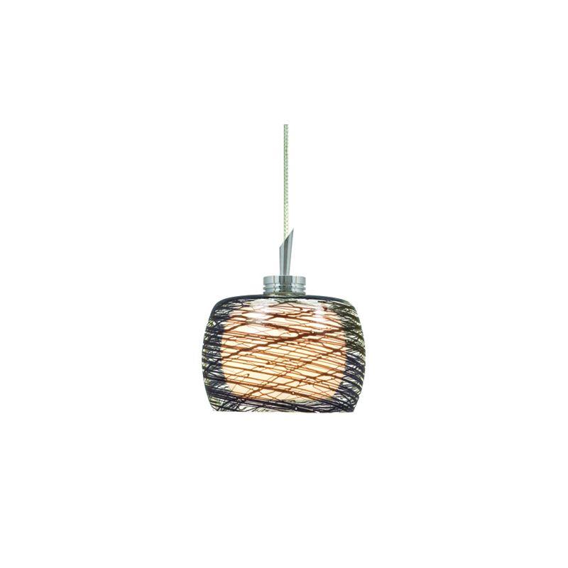 Jesco Lighting KIT-QAP115-BK-A Ally 1 Light Low Voltage Mini Pendant