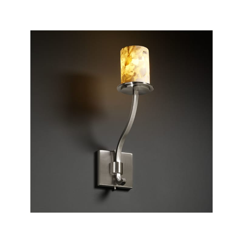 Justice Design Group ALR-8784 Wall Sconce from the Alabaster Rocks!