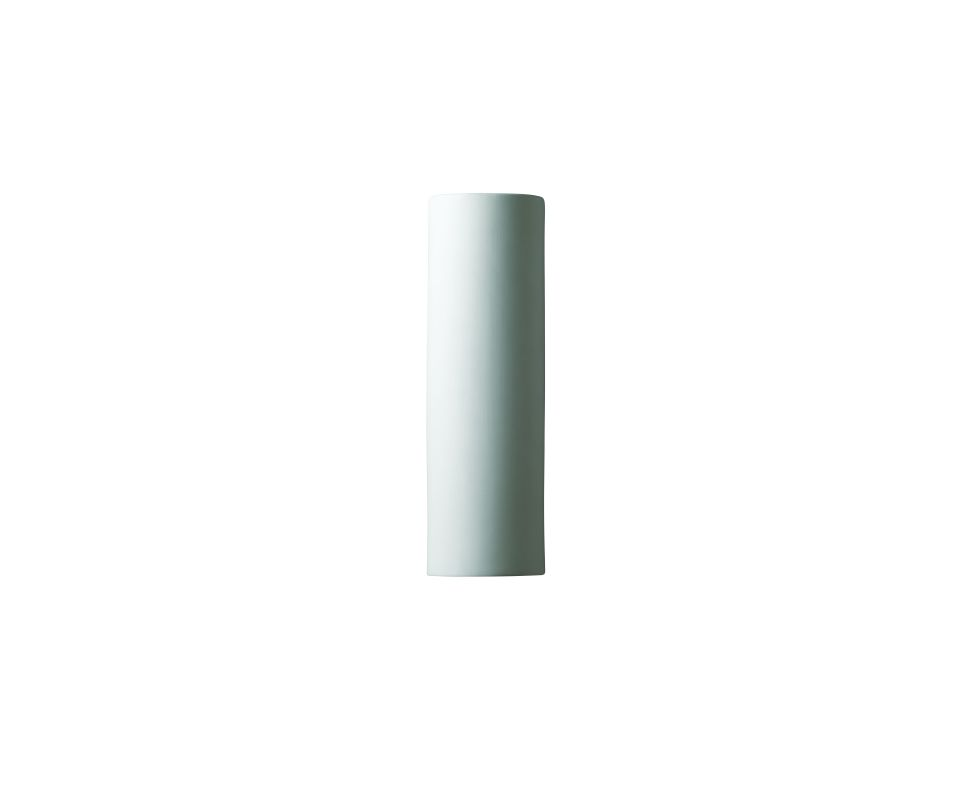 "Justice Design Group CER-5400W Single Light 17"" ADA Tube Exterior Wall"