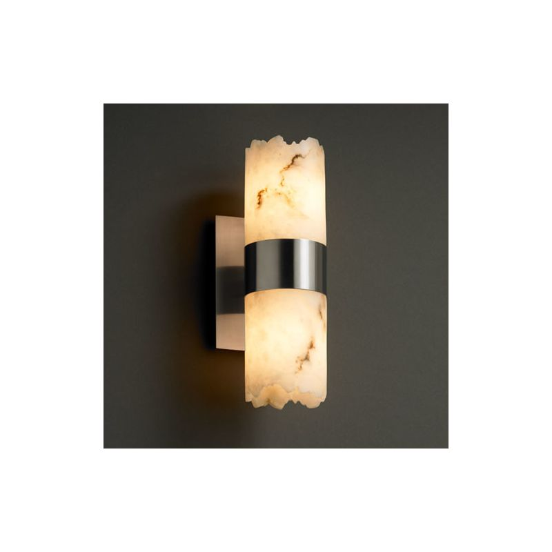 "Justice Design Group FAL-8762-12 LumenAria 5"" Dakota 2 Light Wall"