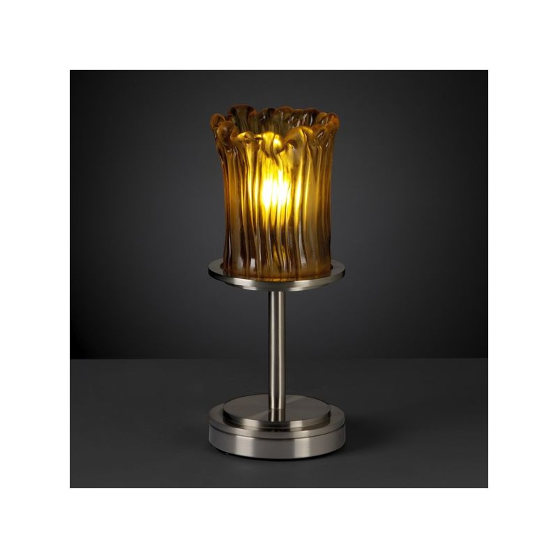 Justice Design Group GLA-8798 Dakota Single Light Short Table Lamp