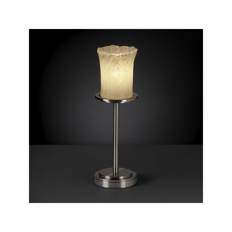 Justice Design Group GLA-8799 Dakota Single Light Tall Table Lamp from