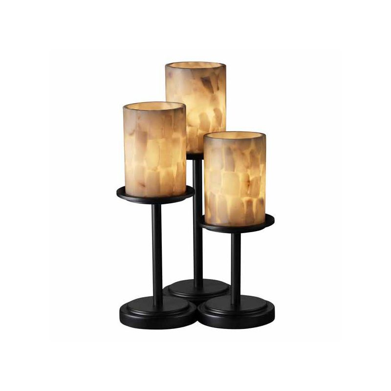 Justice Design Group ALR-8797 Table Lamp from the Alabaster Rocks!