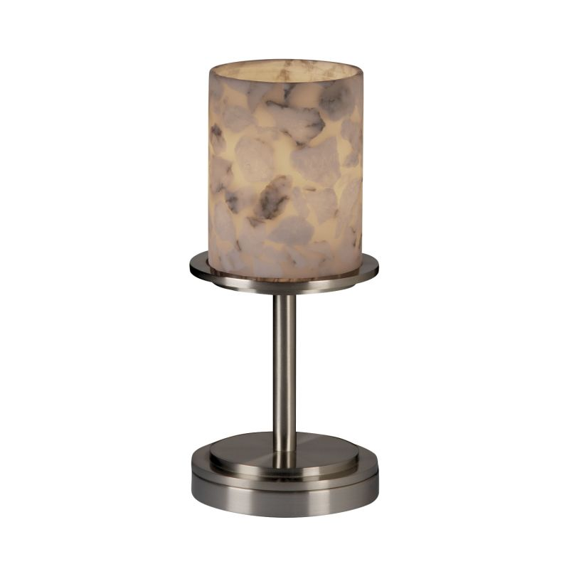 Justice Design Group ALR-8798 Table Lamp from the Alabaster Rocks!