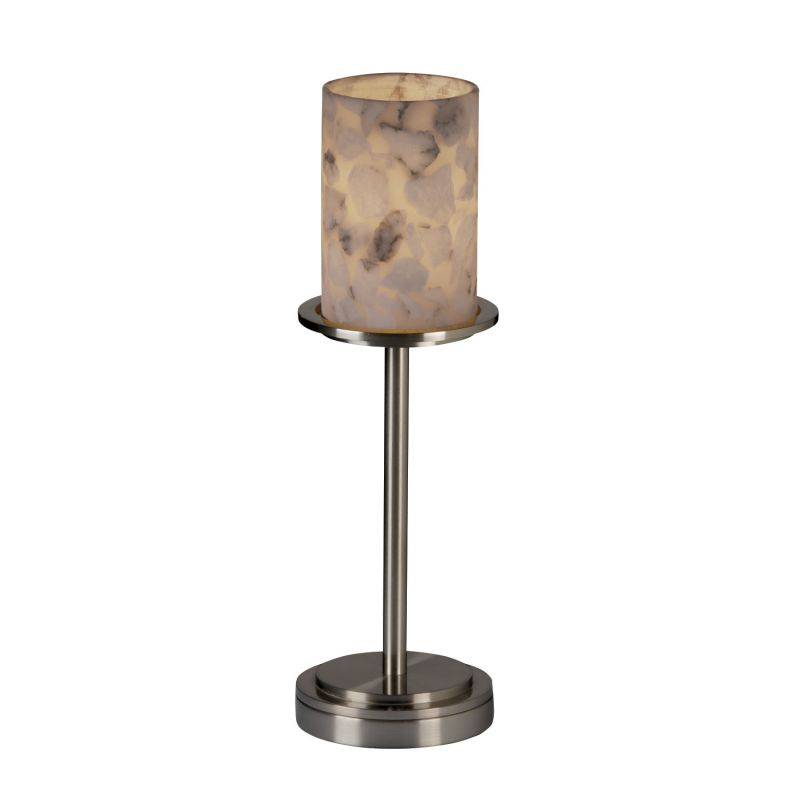 Justice Design Group ALR-8799 Table Lamp from the Alabaster Rocks!
