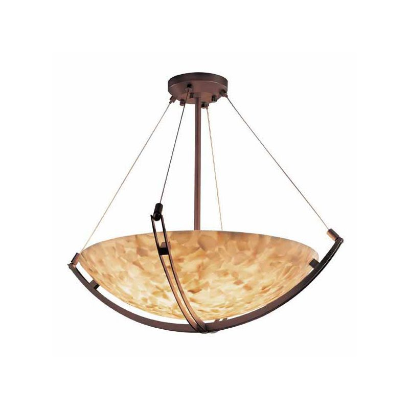 "Justice Design Group ALR-9729 60"" Pendant Bowl Ceiling Fixture from"