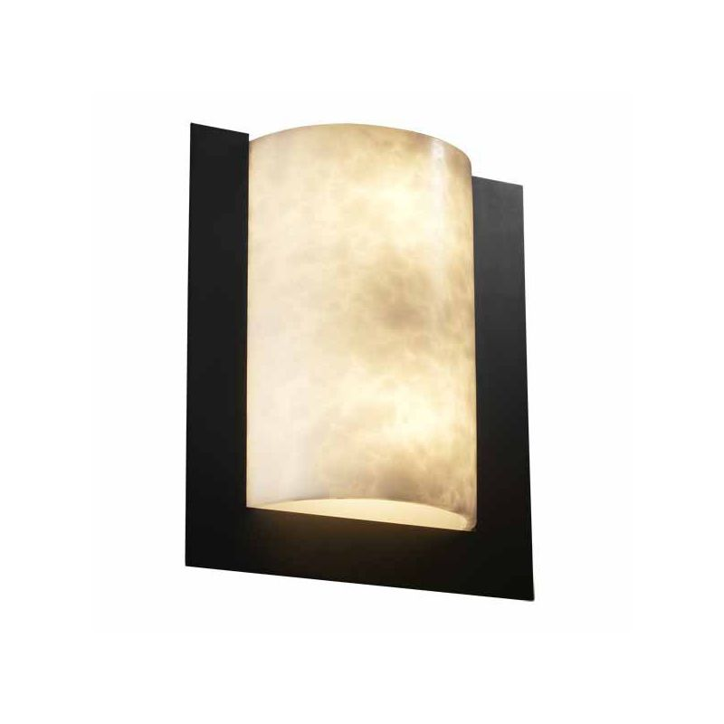 "Justice Design Group CLD-5562 Clouds 12"" ADA Compliant Wall Sconce"
