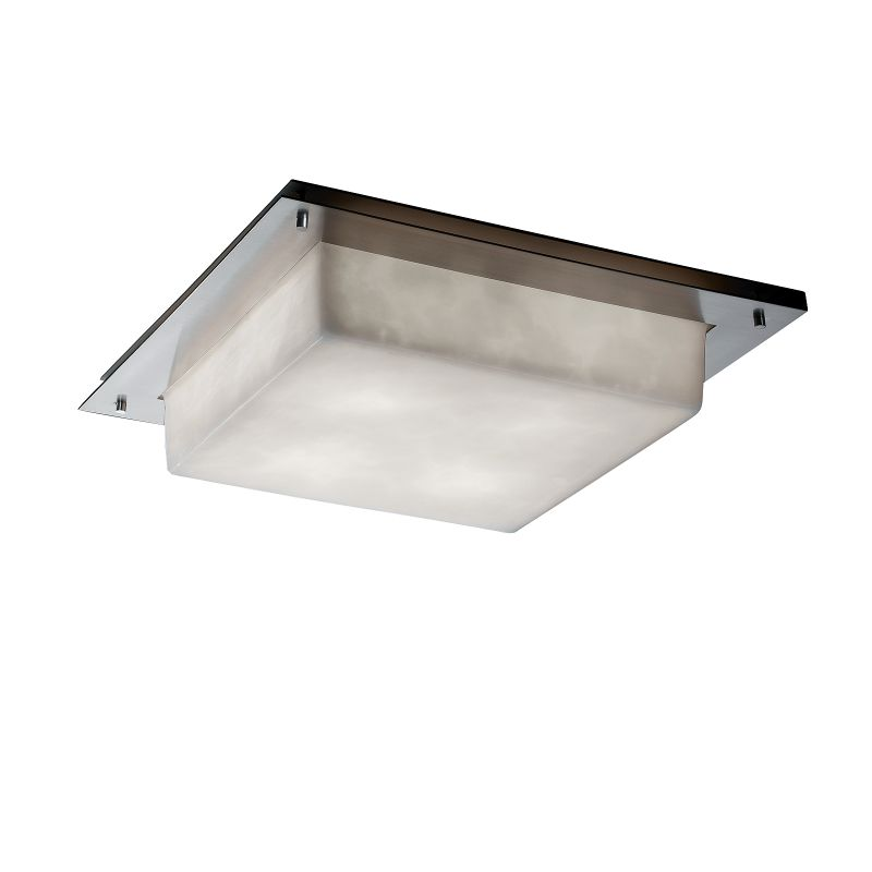 "Justice Design Group CLD-5568-LED-5000 Clouds Collection 24"" Wide LED"