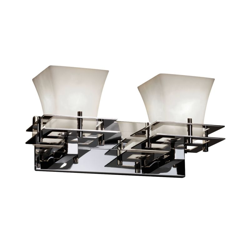 Justice Design Group CLD-8172-40 Clouds 2 Light Vanity Light Polished Sale $238.00 ITEM: bci2874985 ID#:CLD-8172-40-CROM :
