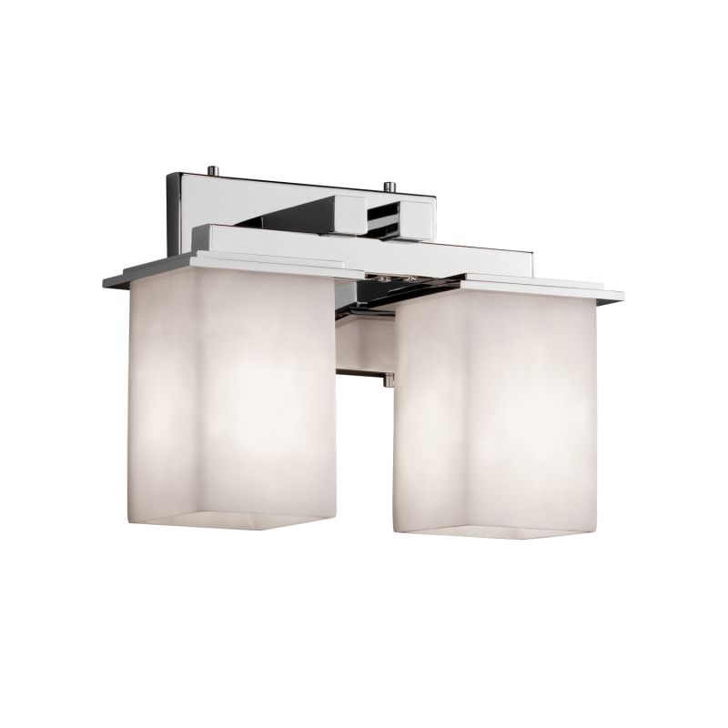 Justice Design Group CLD-8672-15 Clouds 2 Light Vanity Light Polished Sale $238.00 ITEM: bci2875095 ID#:CLD-8672-15-CROM UPC: 784689242257 :