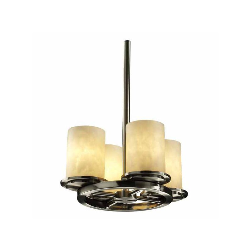 Justice Design Group CLD-8765 Dakota 4 Light Up Lighting Ring