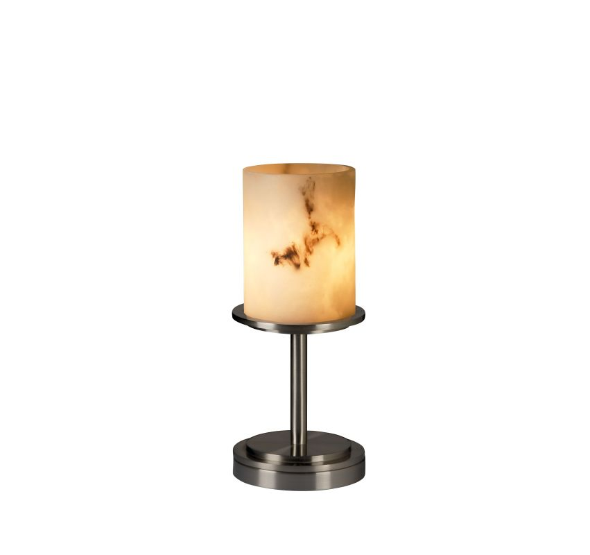 Justice Design Group CLD-8798 Dakota Single Light Short Table Lamp