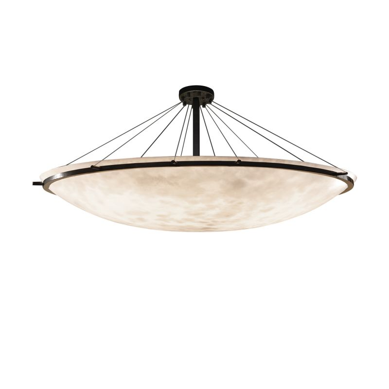 "Justice Design Group CLD-9688-35 Clouds 75"" Wide Ring 16 Light Single"